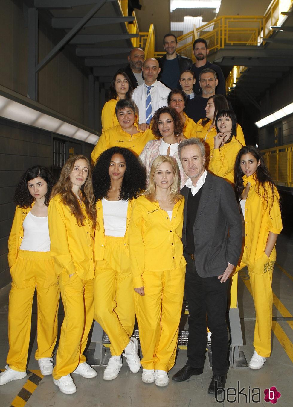Elenco de la segunda temporada de 'Vis a Vis'