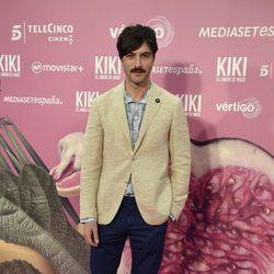 Javier Rey en el estreno de 'Kiki'