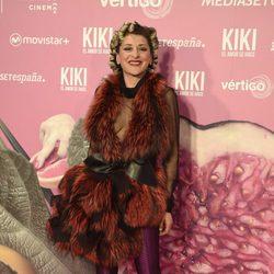 Mariola Fuentes en el estreno de 'Kiki'