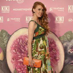 María Castro en el estreno de 'Kiki'