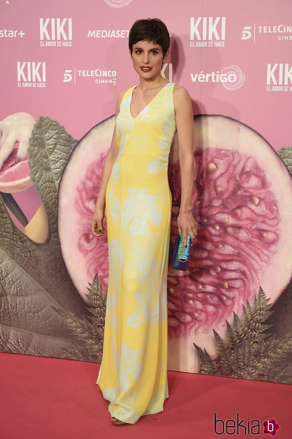 Verónica Echegui en el estreno de 'Kiki'