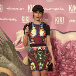 Nerea Barros en el estreno de 'Kiki'