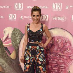 La actriz María León en el estreno de 'Kiki'