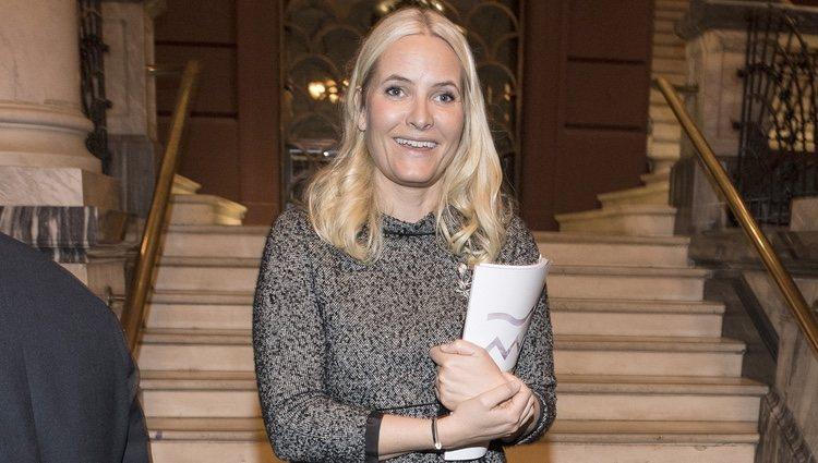 Mette-Marit de Noruega acude a un concierto de música de cámara en Oslo