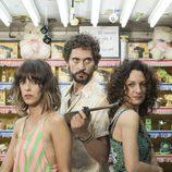 Belén Cuesta, Paco León y Ana Katz en 'Kiki: el amor se hace'