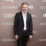 Tristán Ulloa en el estreno de 'Altamira' en Madrid