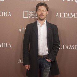 Jan Cornet en el estreno de 'Altamira' en Madrid