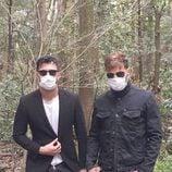 Ricky Martin y su novio Jwan Yosef con mascarillas en Tokyo, Japón