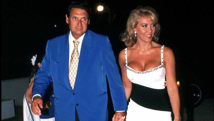 Norma Duval y Marc Ostarcevic en Marbella
