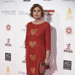 Ágatha Ruiz de la Prada en la gala benéfica Global Gift 2016 en Madrid