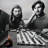 Steve Jobs y Steve Wozniak en los inicios de Apple