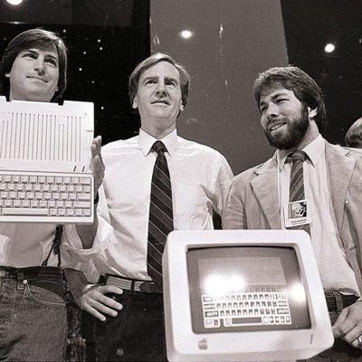 Steve Jobs desvela el Apple II en 1984