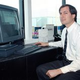 Steve Jobs en 1991 como fundador de NeXT