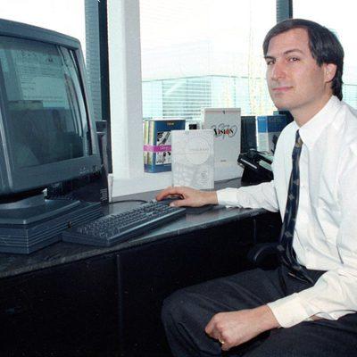 Steve Jobs en 1991 como fundador de NeXT