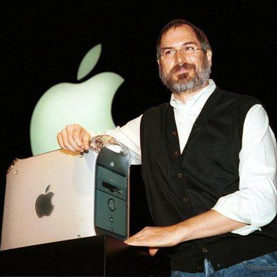 Steve Jobs en 1999, tras su regreso a Apple