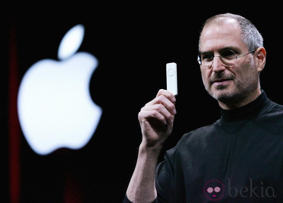 Steve Jobs en la Macworld de 2005