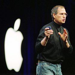 Steve Jobs en la MacWorld de 2002