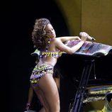 Rihanna, pura provocación sobre el escenario de su concierto en Londres