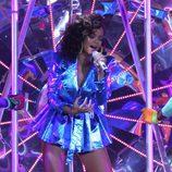 Rihanna deslumbra a su público en Londres