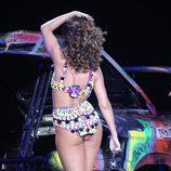 Rihanna, muy provocativa en su gira por Londres