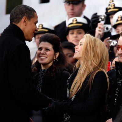 Shakira y Barack Obama