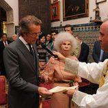 Alfonso Díez da el 'sí quiero' a la Duquesa de Alba