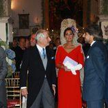 Los padrinos de la boda de la Duquesa de Alba: Carmen Tello y Carlos Fitz-James Stuart