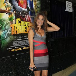 Lucía Hoyos en el estreno de 'Capitán Trueno y el Santo Grial'