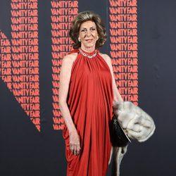 Pitita Ridruejo en la fiesta Vanity Fair en Madrid