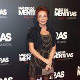 Paloma San Basilio en el estreno del musical 'Más de 100 mentiras'