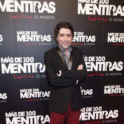 Joaquín Sabina en el estreno del musical 'Más de 100 mentiras'