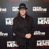 Santiago Segura en el estreno del musical 'Más de 100 mentiras'