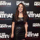 Mai Meneses en el estreno del musical 'Más de 100 mentiras'