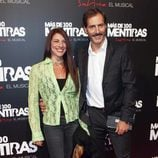 Manuel Bandera en el estreno del musical 'Más de 100 mentiras'