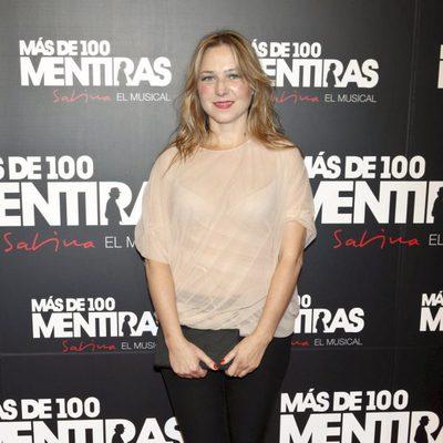 Pilar Castro en el estreno del musical 'Más de 100 mentiras'