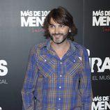 Fernando Tejero en el estreno del musical 'Más de 100 mentiras'