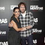 Inma Cuesta y Daniel Sánchez Arévalo en el estreno del musical 'Más de 100 mentiras'