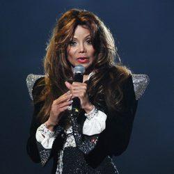 La Toya Jackson en el concierto 'Michael Forever'