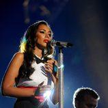 Leona Lewis en el concierto 'Michael Forever'