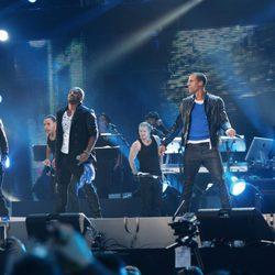 JLS en el concierto 'Michael Forever'