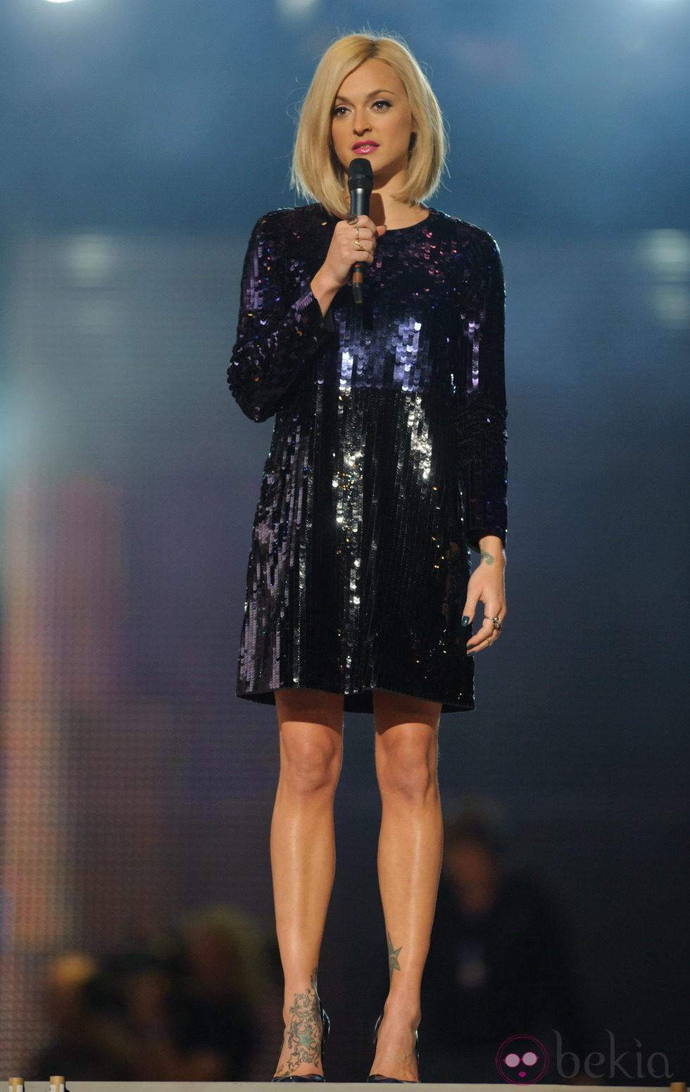 Fearne Cotton en el concierto homenaje a Michael Jackson