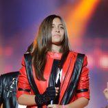 Paris Jackson en el concierto homenaje a Michael Jackson