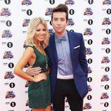 Mollie King y Nick Grimshaw en los Teen Awards