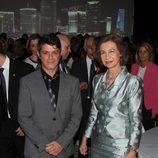 La Reina Sofía y Alejandro Sanz inauguran un centro cultural en Miami
