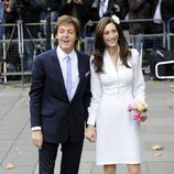 Paul McCartney y Nancy Shevell a la entrada de la Iglesia