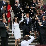 Paul McCartney y Nancy Shevell el día de su boda