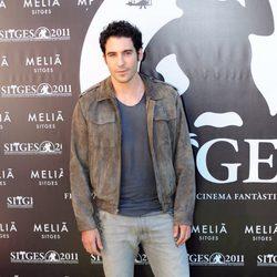 Miguel Ángel Silvestre en la presentación de 'Verbo' en el Festival de Sitges