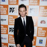 El actor Eddie Redmayne en el estreno de 'My Week With Marilyn' en Nueva York