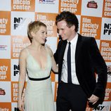 Eddie Redmayne y Michelle Williams en el estreno de 'My Week With Marilyn' en Nueva York