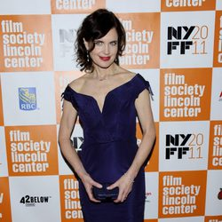 Elizabeth McGovern en el estreno de 'My Week With Marilyn' en Nueva York